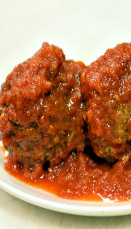 Rao's Famous Marinara Sauce and Meatballs Recipe