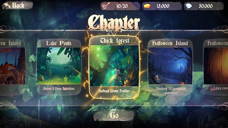 Fantasy World Game Ui DesiGn on Behance