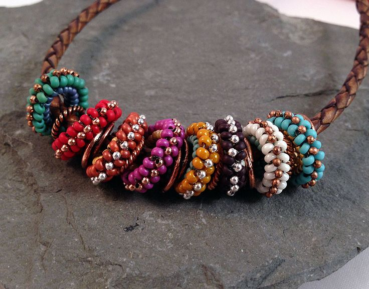 Western Herringbone Loop Necklace - Bead&Button Show