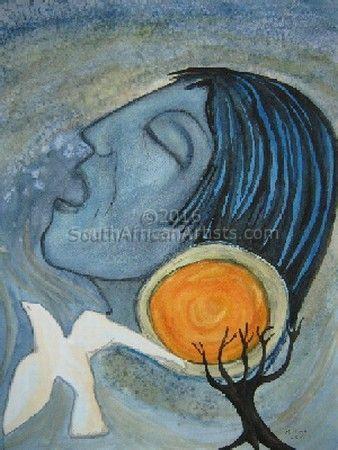 Margrit Prigge - Prophet | Spiritual Art Modern Art