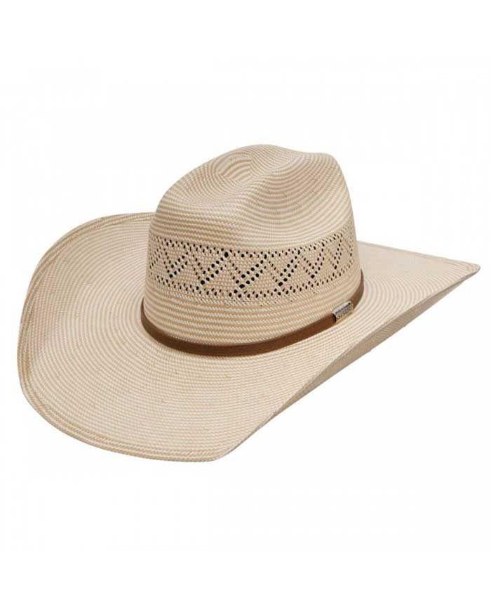 Stetson Rocklin 10X Straw Cowboy Hat | Men's Cowboy Hat