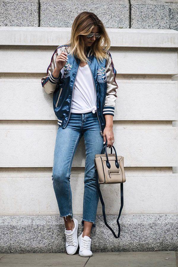 Voltei meus amores!! post de hoje e sobre esse look lindo e super moderno,se fizer calor e só amarrar a jaqueta na cintura,ta vendo só ? super pratico e você sairá de casa com grande estilo!!! gostaram? deixe aqui sua pergunta nos comentários que vou responder