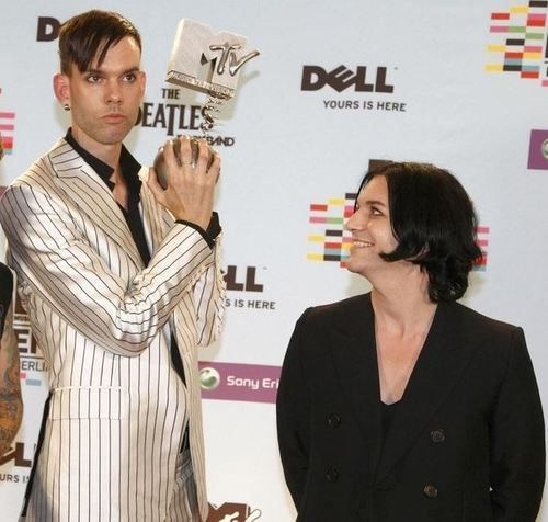 Stefan Olsdal & Brian Molko from Placebo