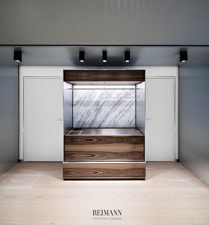 Reimann Interior & Design I Haut- und Laserzentrum Bavaria - Calacatta Marble, Kreon Lightning...