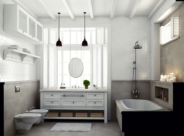 Дизайн проект 3 комнатной квартиры в стиле прованс
