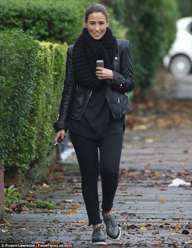 Pavement strut: Rachel Stevens stepped out make-up free on Friday as she reportedly made h...