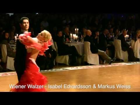 Wiener Walzer - Isabel Edvardsson & Markus Weiss - Euro Dance Festival 2009 - YouTube
