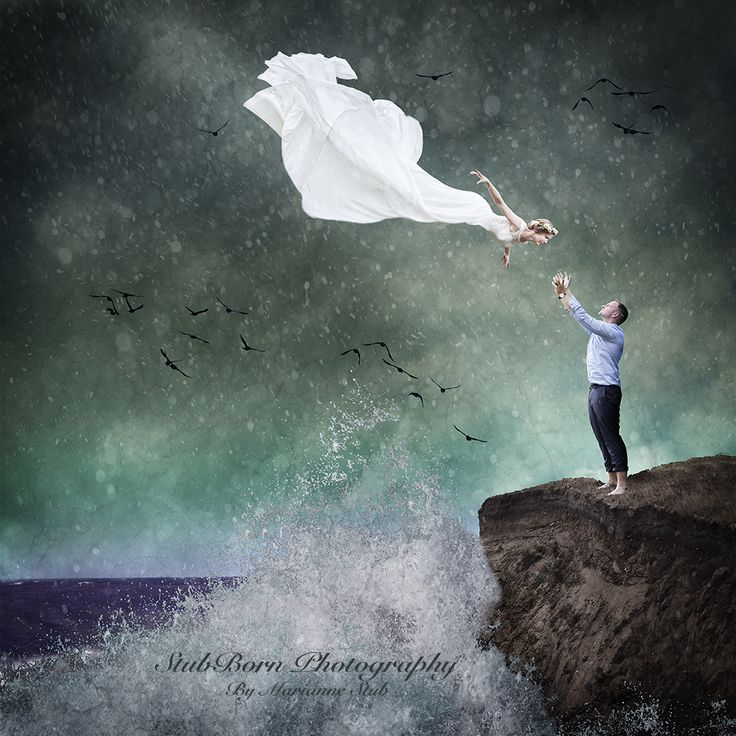 Fine art Composite Wedding photography by danish photographer, Marianne Stub