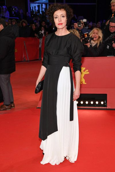 Maria Schrader attends the Opening Ceremony & 'Isle of Dogs' premiere during the 68th Berlinale International Film Festival Berlin at Berlinale Palace on February 15, 2018 in Berlin, Germany.