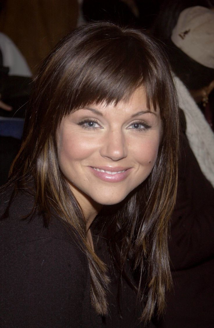 Tiffani Thiessen- love her soft makeup