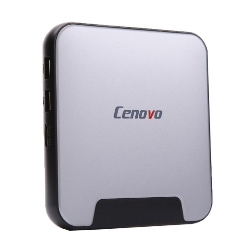 [$128.00] Cenovo MINIPC2 TV Box Windows 10 Mini PC, Intel Cherry Trail Z8300 Quad Core 1.84GHz, RAM: 4GB, ROM: 64GB, Support WiFi / HDMI / Bluetooth / USB(Black)