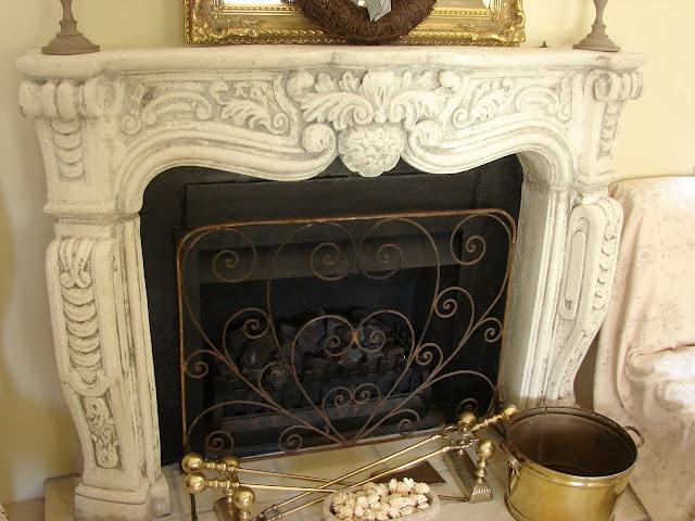 Beautiful Fireplace Mantel Fireplaces Mantels Decorated Firepla