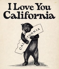 I love you California...no matter where I go you will always be my home