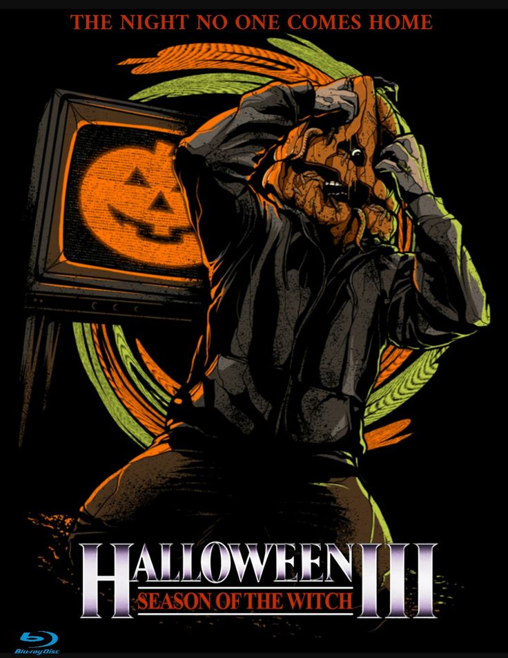 Halloween 3 Season Of The Witch Horror Movie Poster