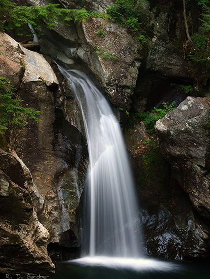 Bingham Falls just north of Stowe before you get to Smuggler's Notch.  I will see this before I leave for sure!!