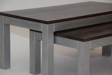 Novo Nesting Tables - contemporary - coffee tables - kansas city - Belak Woodworking LLC