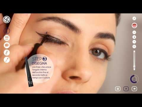 Yves Rocher - Tutorial Eyeliner - Trucco Occhi Delineati - YouTube