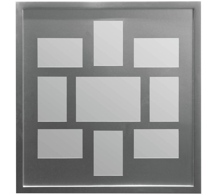Buy Premier Housewares 9 Print Photo Frame - Grey at Argos.co.uk - Your Online Shop for Photo frames, Wall art, pictures and photo frames, Home furnishings, Home and garden.