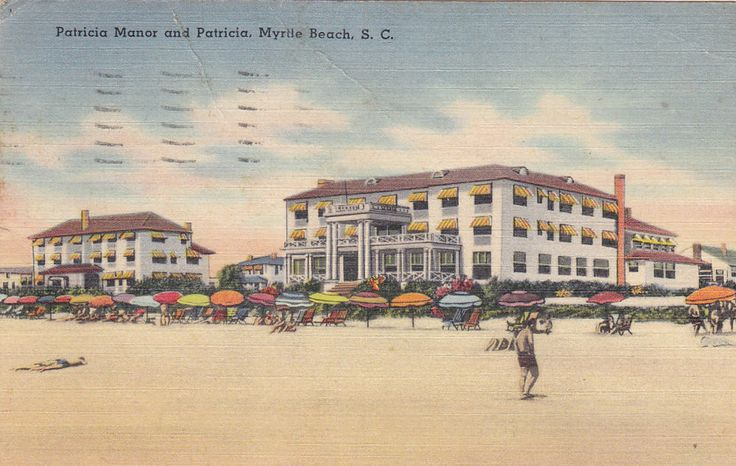 MYRTLE BEACH, South Carolina, PU-1948; Patricia Manor & Patricia  | eBay