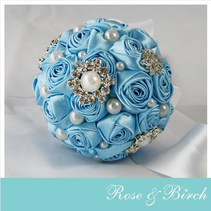 Extra Small bridal bouquet by Rose & Birch www.roseandbirch.com