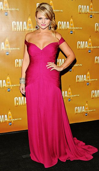 Miranda Lambert's Best Red Carpet Moments: November 10, 2010