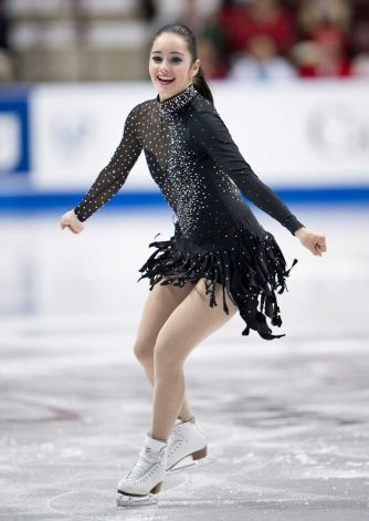 Canada's Kaetlyn Osmond performs her short program in the women's competition at the Skate Canada International figure skating event, Friday, Oct. 26, 2012, in Windsor, Ontario. Photo: The Canadian Press, Paul Chiasson / AP