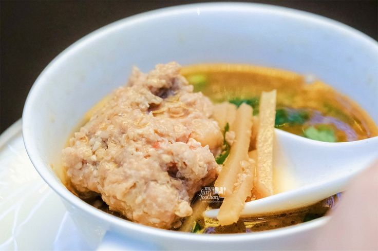 Pong Tauhu Soup by Chef Malcolm Lee for RI Sing 50 Event Singapore x Indonesia