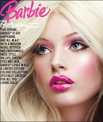 Barbie Makeup by MAC