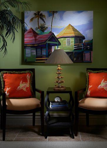 High End Interior Design Firm Decorators Unlimited Palm Beach Caribbean Coastal Chic