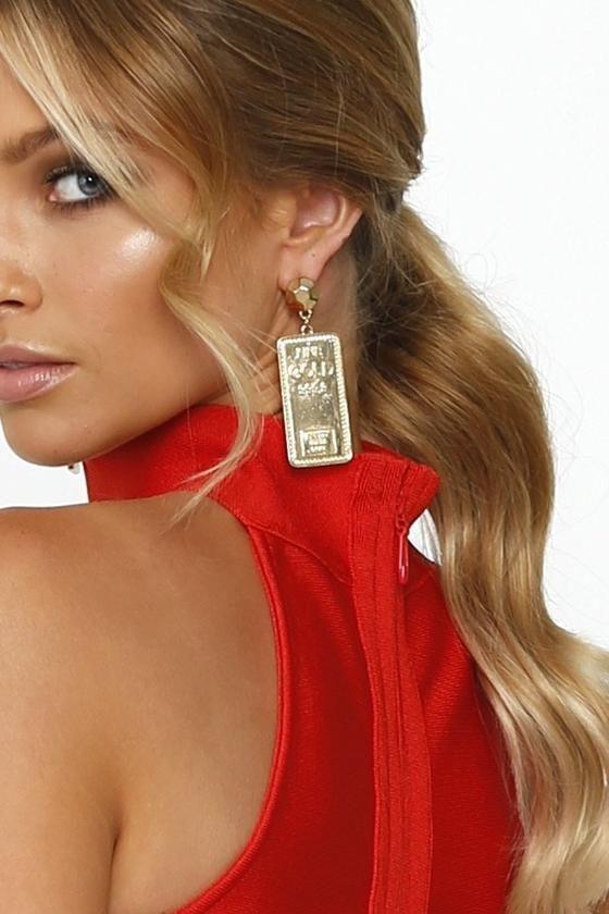 30e2da863d108 Fine GOLD 999.9 Earrings
