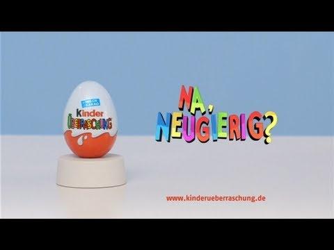 Kinder Überraschung Neugier-Test Werbespot | Na, neugierig? - Werbung    bei GermanAdvertisements gesehen