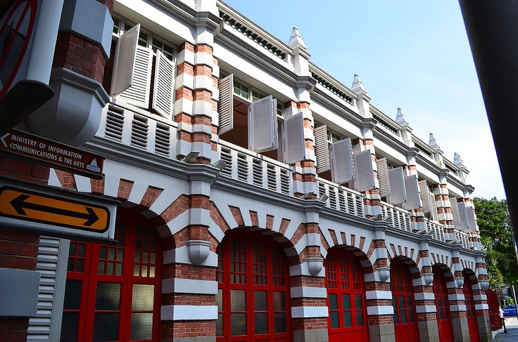 """Civil Defence Heritage Gallery ---  Love this building. To be one of the """"oldest"""" building in Singapore, located on the central of Singapore.   This gallery is like a small museum which is free of administration fee!!!"""