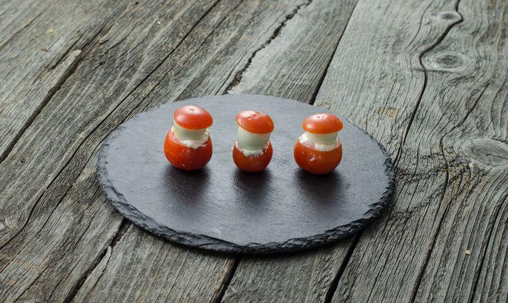 Ciupercuţe din ouă de prepeliţă