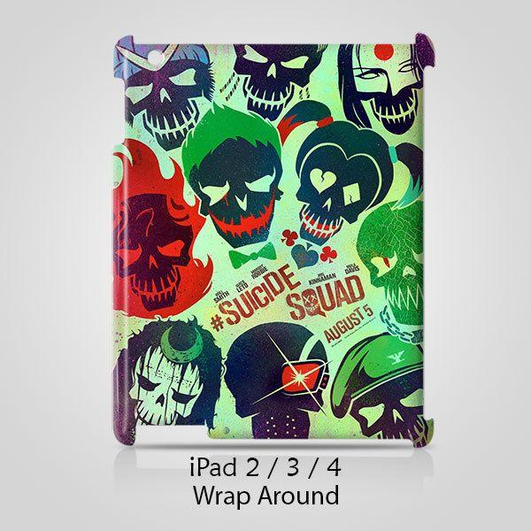 Suicide Squad iPad 2 3 4 Case Cover Wrap Around