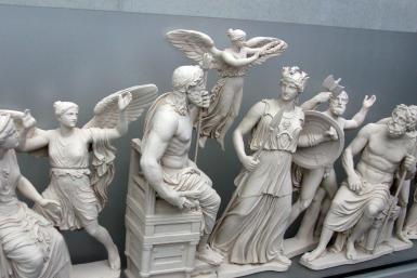 Greek Mythology 101: The 12 Olympian Gods and Goddesses: Some of the Olympian gods and goddesses.