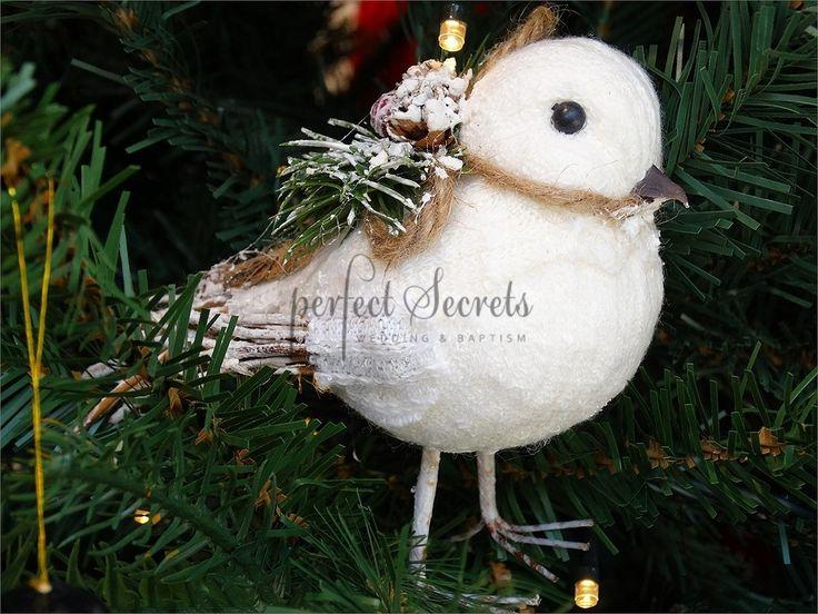 Picture of Χριστουγεννιάτικο στολίδι πουλάκι