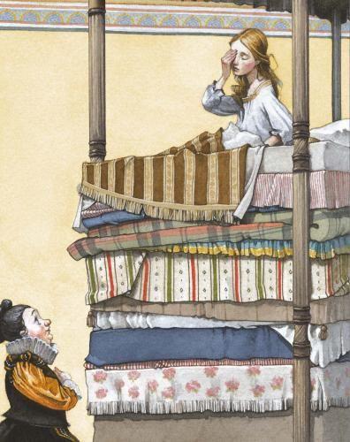 Usborne Illustrated Hans Christian Andersen's Fairy Tales - Fran Parreño (Usborne Publishing)