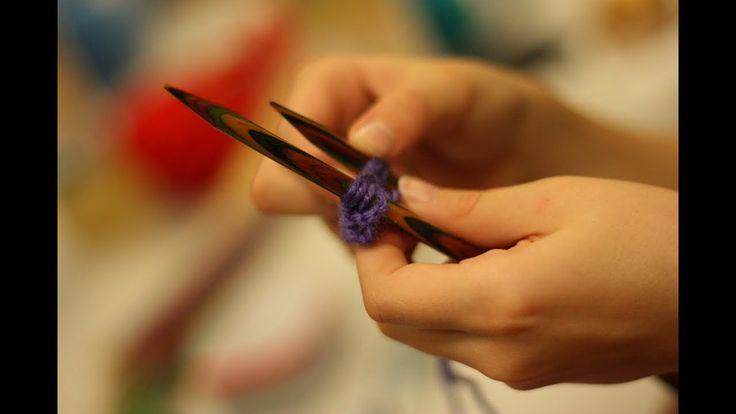 Lección 38 --- Cómo distinguir un punto al derecho y al revés sobre las agujas