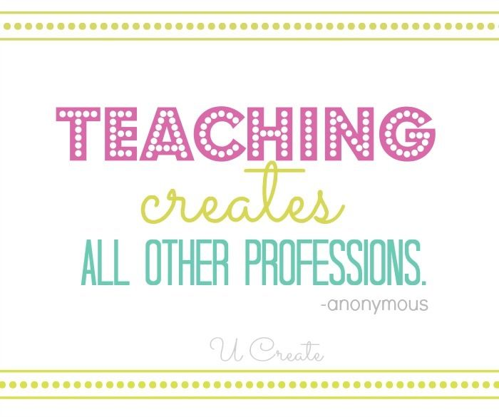 Teacher Appreciation Q...