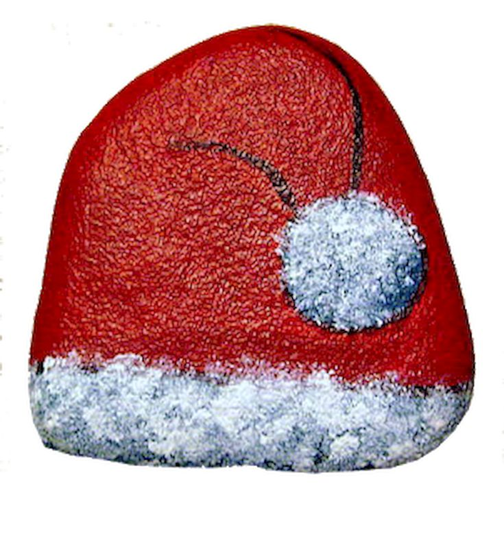 50 DIY Christmas Rock Painting Ideas (51)
