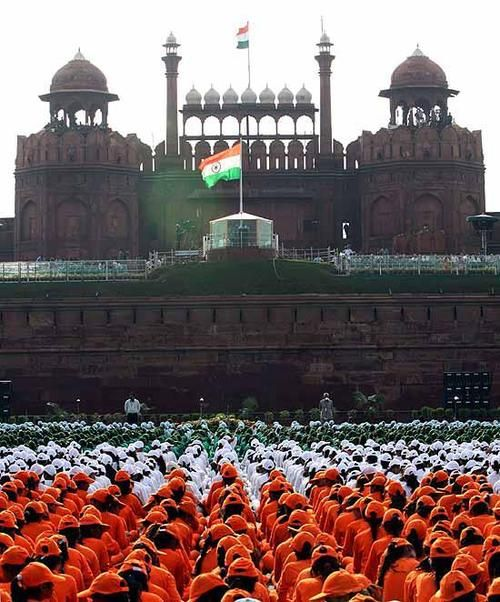 Red Fort, New Delhi, (INDIA) India Independence Day