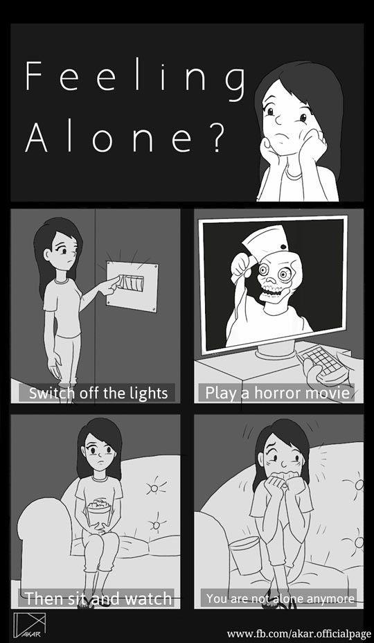 Feeling Alone? #badbutfunnyadvice @bowlsbydavid