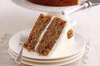 Mary Berry's carrot and walnut cake with cream cheese icing   Food   Home & garden   Homes and Property