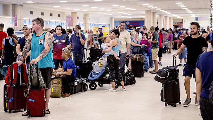 Puerto Rico's main airport is barely functioning - Sep. 26, 2017