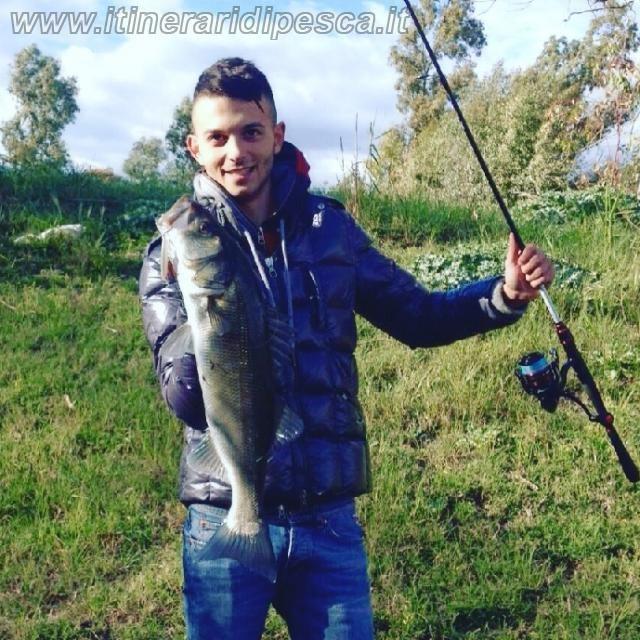 Rapala clackin minnow per questa spigola a spinning pesca fishing