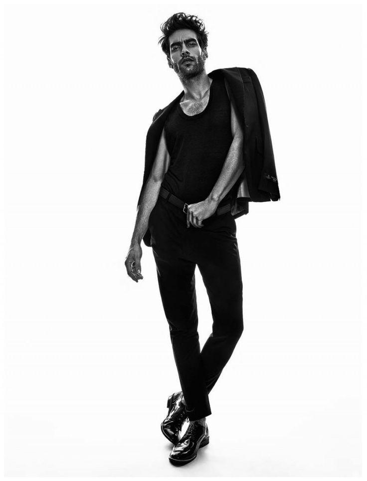 Jon K Hits the Studio for LOfficiel Hommes