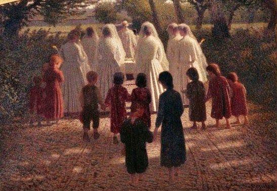 Volpedo, Pellizza da, (1868-1907), The Dead Child, 1902