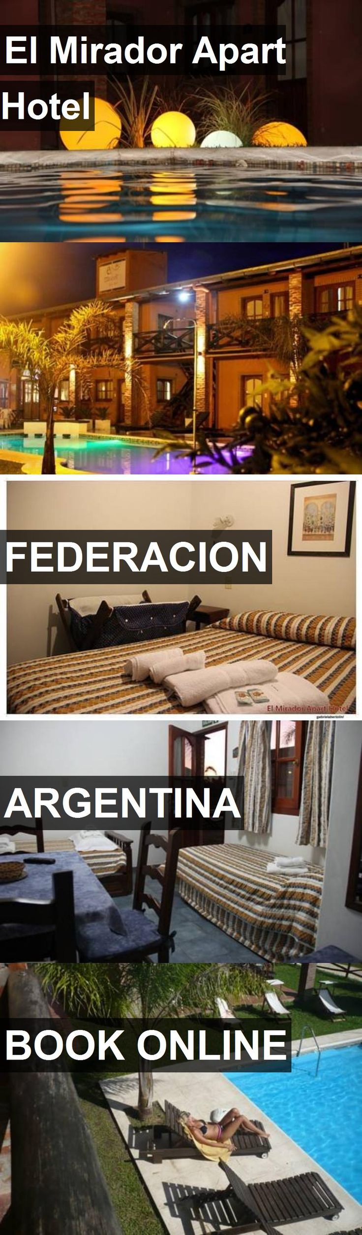 El Mirador Apart Hotel in Federacion, Argentina. For more information, photos, reviews and best prices please follow the link. #Argentina #Federacion #travel #vacation #hotel