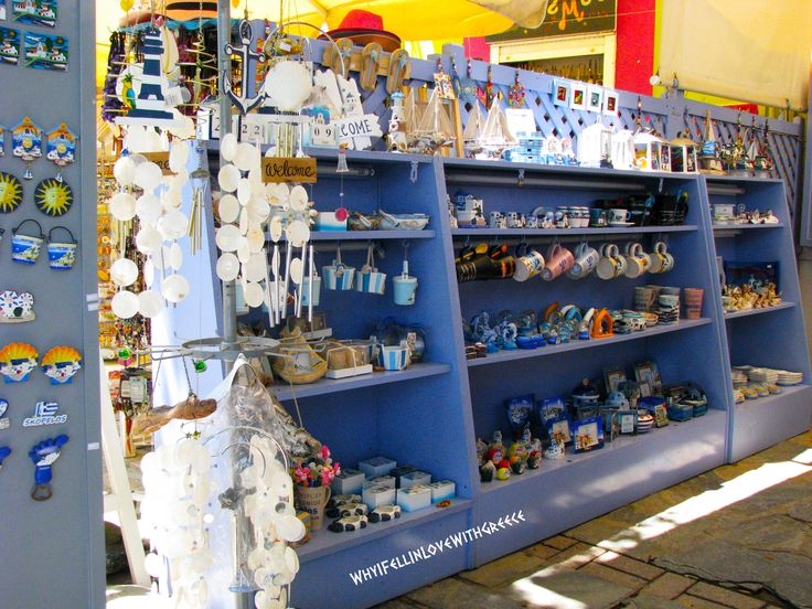 Ελλάδα (Greece), Skopelos, shopping, souvenirs