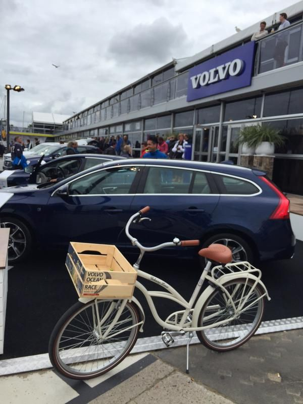 A Beach Cruiser with your New Volvo.